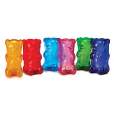 GUMMY BEAR LIGHTS from Uncommon Goods - while green is my favorite color, all of these bears are adorable!