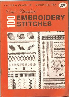 100 Embroidery Stitches - Tamara Kailing - Álbuns da web do Picasa ..A free book with 101 embroidery stitches!!