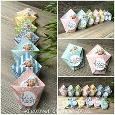 I made these Easter 2017 Boxes And Bows, Creative Box, Stamping Up, Little Gifts, Easter Crafts, Craft Fairs, Homemade Gifts, Diy And Crafts, Gift Wrapping