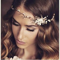 **Boho bride** We have a fantastic collection of delicate handmade hairvine that are just perfect for your boho bridal look  Handmade bridal hair accessories from Donna Crain. See the entire collection at www.donnacrain.com or come and visit me in person.X  For your bridal hair,makeup & destination weddings, do get in touch.www.patriciasoper.com XX