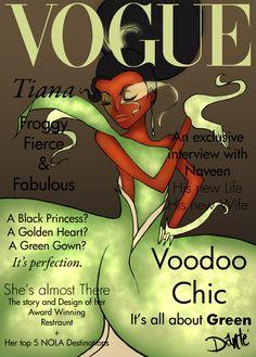 Vogue Princesses- Tiana