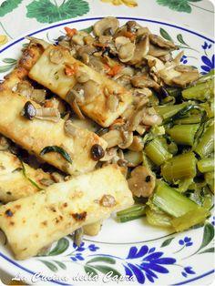 tofu funghi