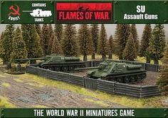#Flames of war: open fire!: soviet su-85 or #su-100 (2 #spgs) ofbx10,  View more on the LINK: http://www.zeppy.io/product/gb/2/291775259632/