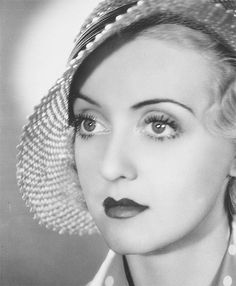 Bette Davis. I have gotten this from older people usually... Cause my eyes are buggy like that.