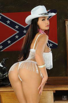 Aletta Ocean cowgirl