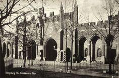 Кёнигсберг. Штайндаммские ворота, ок. 1900 года