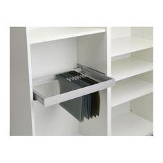 INREDA Rahmen, ausziehbar IKEA Vollauszug - der Inhalt lässt sich leicht überblicken und erreichen.