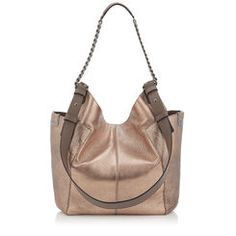 Jimmy Choo - Official Website: Browse the complete collection of handbags, including fashionable shoulder and cross body bags. Shop for handbags now. Womens Designer Bags, Copper Rose, Deer Skin, Brushed Metal, Fashion Bags, Jimmy Choo, Leather Bag, Crossbody Bag, Shoulder Bag