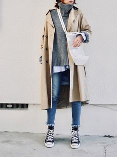 Women S Cheap Fashion Clothing Key: 7061292859 Winter Mode Outfits, Stylish Winter Outfits, Winter Fashion Outfits, Autumn Winter Fashion, Casual Outfits, Estilo Converse, Winter Stil, Korea Fashion, Korean Outfits