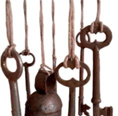 Musical wind chimes made from keys great idea for all those keys that you have no idea what they belong to! Description from pinterest.com. I searched for this on bing.com/images