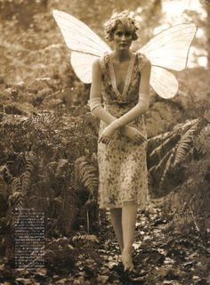 fairy. Tinker Belle's Forest, for Vogue Nippon.