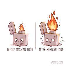 Espanhol faz ilustrações Antes/Depois mais engraçadas que você já viu!