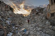 Rescue teams continue their operations in the rubble of the largely destroyed…