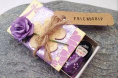 Geisha friendship matchbox gift - The Supermums Craft Fair