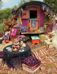 Gypsie camp...