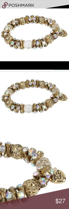 NWT Betsey Johnson Faceted Bead Stretch Bracelet Betsey Johnson Faceted Bead Stretch Bracelet. Betsey Johnson Jewelry Bracelets