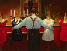 A Kind of Loving by Jack Vettriano. 1992