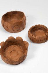 Second Grade Construction & Sculpture Activities: Make Easy Clay Pinch Pots