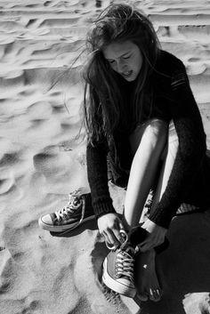 Beach Converse