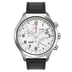 TIMEX タイメックス インテリジェントクォーツ レーシングフライバック ホワイト 腕時計 T2N701: TiCTAC|腕時計の通販サイト【チックタックオンラインストア】