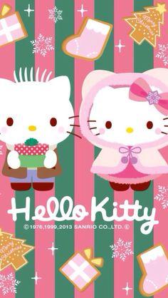 A panda's love for Hello Kitty Goodbye Kitty, Hello Kitty Art, Hello Kitty Pictures, Sanrio Wallpaper, Hello Kitty Wallpaper, Iphone Wallpaper, My Melody Sanrio, Sanrio Hello Kitty, Hello Kitty Christmas