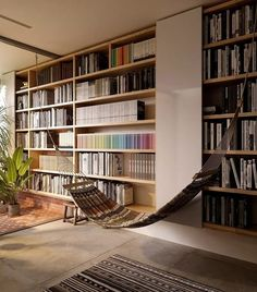 Home Library Rooms, Home Library Design, Home Office Design, Home Office Decor, Library Architecture, Architecture Design, Cabin Design, House Design, A Frame House Plans