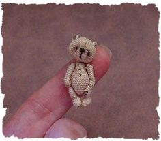 thread crochet bears