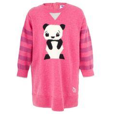 Bonnie Baby Pink Panda Design Dress
