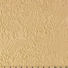 Minky Cuddle Embossed Paisley Camel Fabric Shannon Fabrics