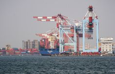 Port of Kaohsiung in Taiwan [2862  1834]