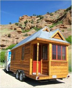 Love the idea of a Tiny House! (but where would i put my clothes?)