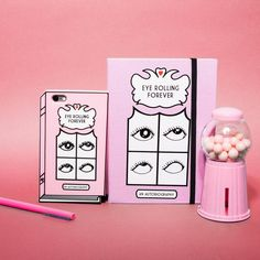 """2,312 Likes, 18 Comments - Valfré (@valfre) on Instagram: """"Eyes Rolling Forever 🙄 Phone Case + Journal #valfre"""""""