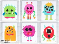 With the slew of busy bag ideas and play doh mats on this site, we couldn't resist these adorable monster themed activities. Your kids will love how creative they can be with them. Fun Summer Activities, Craft Activities For Kids, Toddler Activities, Easy Diy Crafts, Diy Crafts For Kids, Fun Crafts, Mat Man, Playdough Activities, Activity Mat