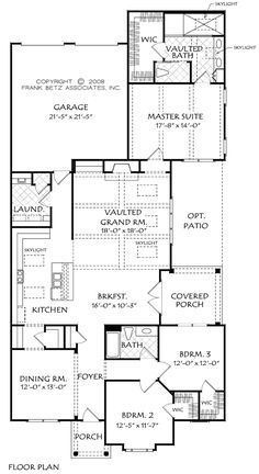 plan 8423jh: handicapped accessible | southern house plans