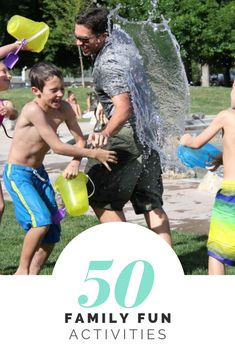List: 50 Fun Activities To Show Your Family You Love Them.