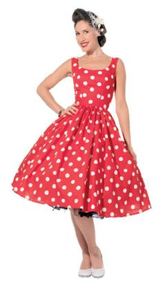 1950's Sewing - Vintage Style Tea Dress