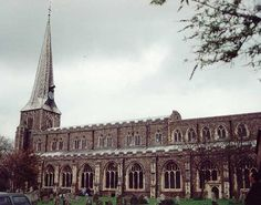 St. Mary's Church in Hadleigh, where Dr. Taylor ministered.