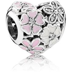 Retired Pandora Poetic Blooms Heart Charm with Mixed Enamel :: Enamel Charms :: Authorized Online Retailer Charms Pandora, Mora Pandora, Pandora Heart Charm, Rings Pandora, New Pandora, Pandora Beads, Pandora Bracelets, Pandora Jewelry, Cheap Pandora