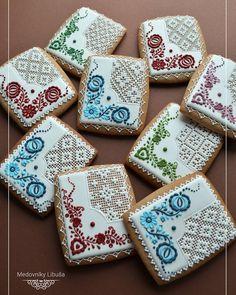Needlepoint cookies | Luniša Bartosova