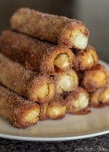 Cinnamon Cream Cheese Roll Ups