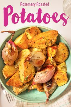 Up next for the Sides of March is Rosemary Roasted Potatoes for 1 SmartPoint! With flavor as full as their scent, these spuds are a delicious side for any dinner party.