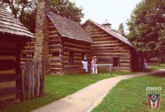 Schoenbrunn Village in Ohio. I went there on a school field trip. One of the coolest places I've ever been.