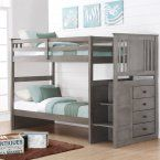 Donco Twin over Twin Bunk Bed - Dark Cappuccino - Bunk Beds & Loft Beds at Hayneedle