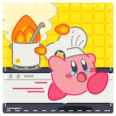 "tsperring: ""What really happens at the Kirby Cafe """