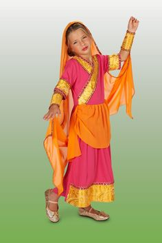 Bollywood Girl Child Halloween Costume Insert your child right into a Bollywood film with this elaborate costume. http://www.costumeexpress.com/p/811429/bollywood-girl-child-costume?REF=SOC-Facebook-Mktg16