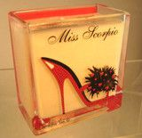Christopher Vine Miss Scorpio Filled Candle