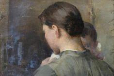 Helene Schjerfbeckin maalauksen alta on löytynyt taiteilijan aiemmin tuntematon, viimeistelty teos. Konservoinnin jälkeen se liitetään Ateneumin näyttelyyn.
