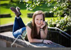 Cute pose for outdoor senior pictures. #arisingimages #michigan #seniorpics #seniors #photoshoot #pose