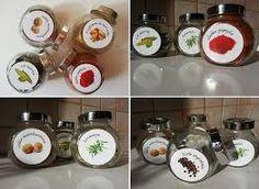 Etykiety przypraw - Hledat Googlem Spice Jar Labels, Spice Jars, Spices, Spice