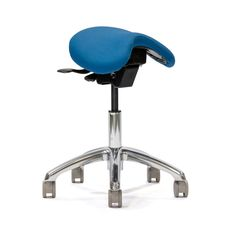 Crown Seating - English Saddle Ergonomic Saddle Medical Chair; ErgoLab E400
